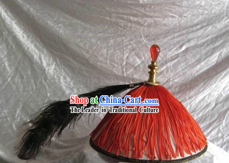 Ancient Chinese Qing Dynasty Official Court Hat