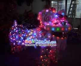 LED Lights Lion Dancing Costume Complete Set