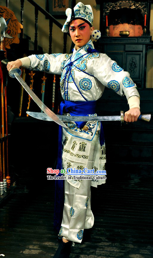 Beijing Opera Fighting Wu Sheng Costume Complete Set