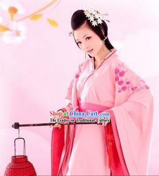 Traditional Chinese Lantern Dance Costumes Complete Set