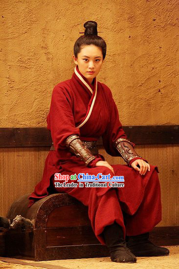 Ancient Chan Kuo Dynasty Clothing