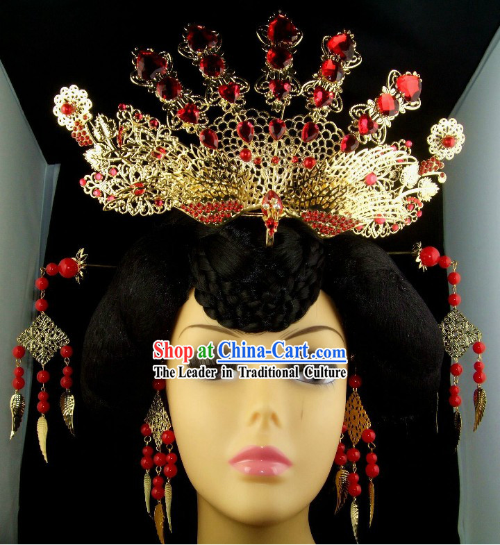 Ancient Chinese Empress Phoenix Hair Accessories Set