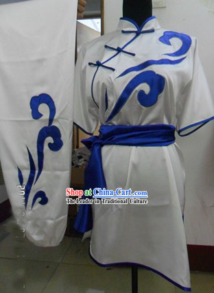 Chinese Auspicious Cloud Kung Fu Competition Uniform
