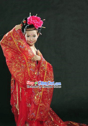 Ancient Chinese Princess Costume for Kids