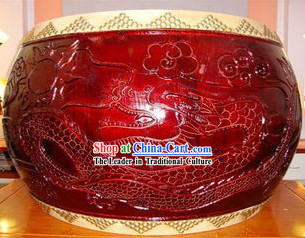 Chinese Classical Dragon Water Tang Drum