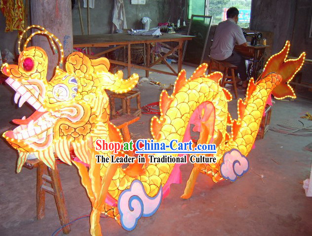 LED Lights Display Dragon