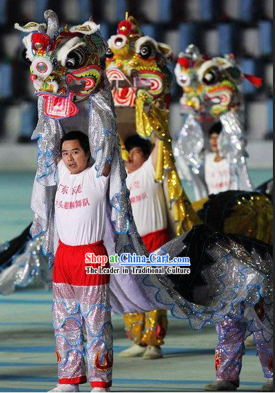Peking Olympic Games Kylin Dance Costume Complete Set