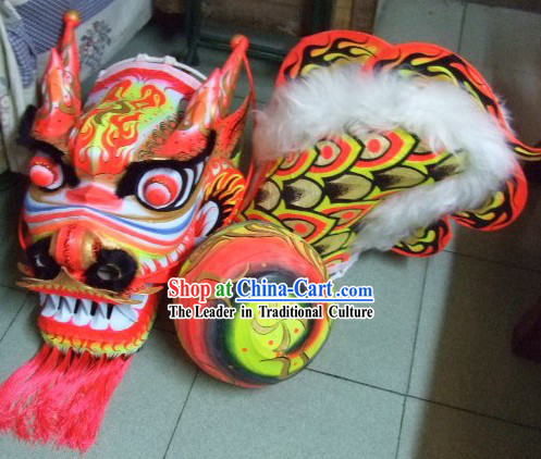 Luminous Dragon Dancing Costumes Complete Set for Teenagers