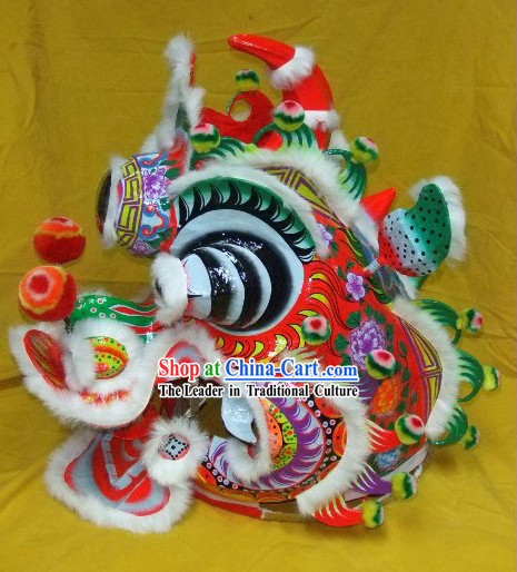 Chinese New Year Celebration Kylin Dance Costumes Complete Set