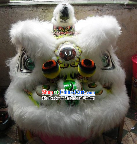 China Lunar New Year Celebration Luminous Lion Dance Costumes Complete Set