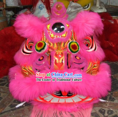 Supreme Lucky Opening and Display Lion Dance Costumes Complete Set