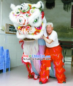 Ancient Style Supreme Lion Dance Costume Complete Set