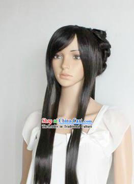 Ancient Chinese Handmade Long Beauty Wig