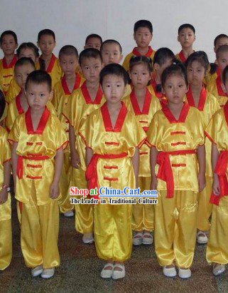 Traditional Chinese Tai Chi and Kung Fu Uniform for Kids