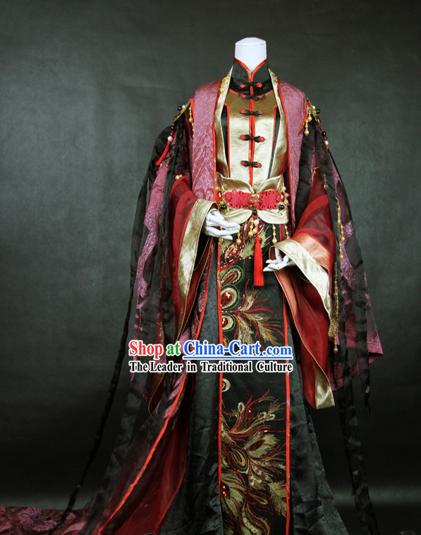 Ancient Chinese Super Hero Costume for Men