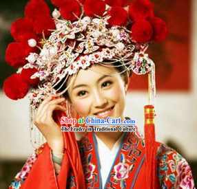 Supreme Chinese Classical Wedding Phoenix Crown for Bride