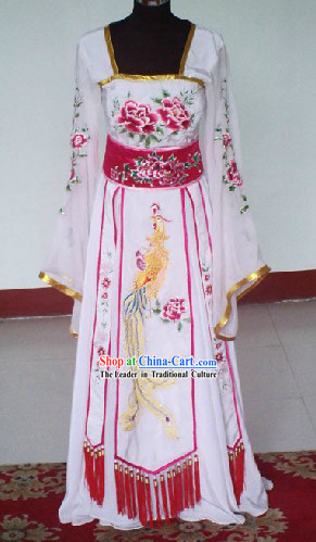 Chinese Classical Stage Performance Dramatic Empress Costumes Complete Set