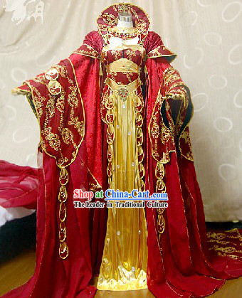 Ancient Chinese Cosplay Empress Costumes Complete Set