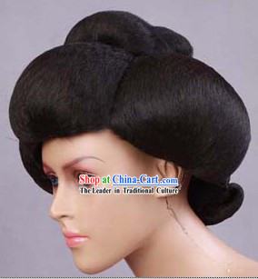 Ancient Chinese Tang Dynasty Palace Empress Wig for Women