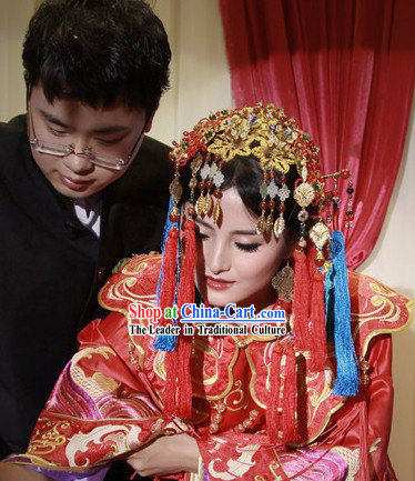 Ancient Chinese Royal Wedding Crown for Women