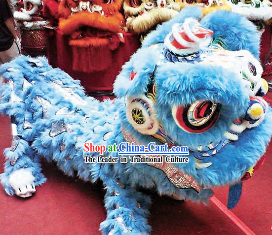 Professional Competition Lion Dance Costume Complete Set