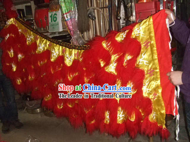 Luminous Lion Dance Tail Collar 2 Pants 2 Claws