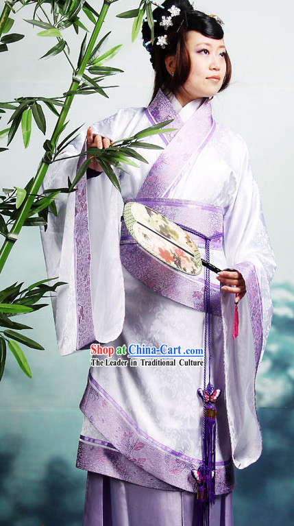 Ancient Han Dynasty Quju Hanfu Clothing for Women