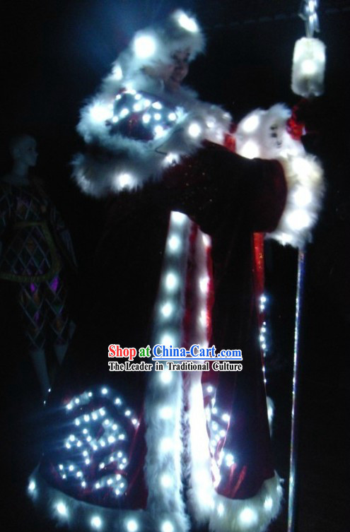 Electric LED Lights Luminous Dancing Costumes