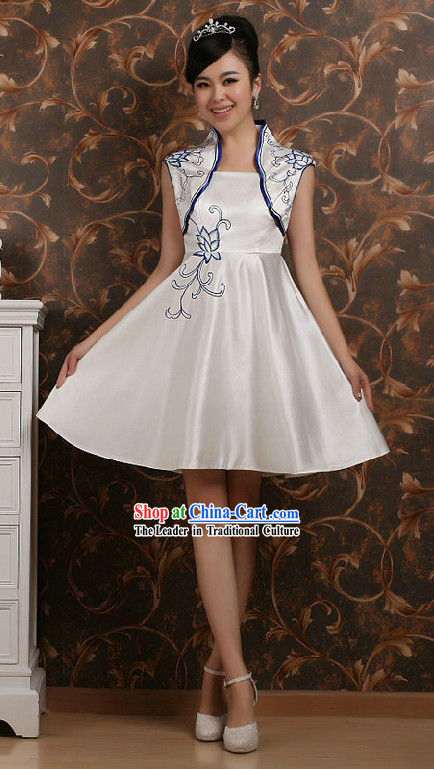 Chinese Related Business Ceremony Costumes for Women