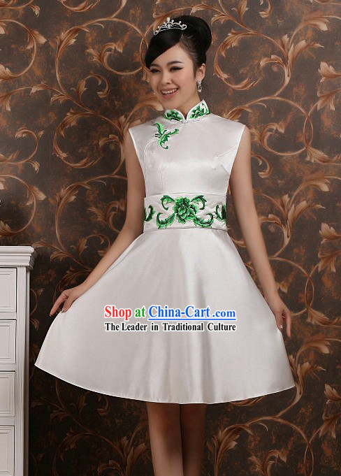 Beijing Olympic Games Opening Ceremony Classical Qipao Dress