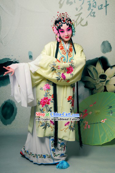 Chinese Beijing Opera Dan Actress Costumes