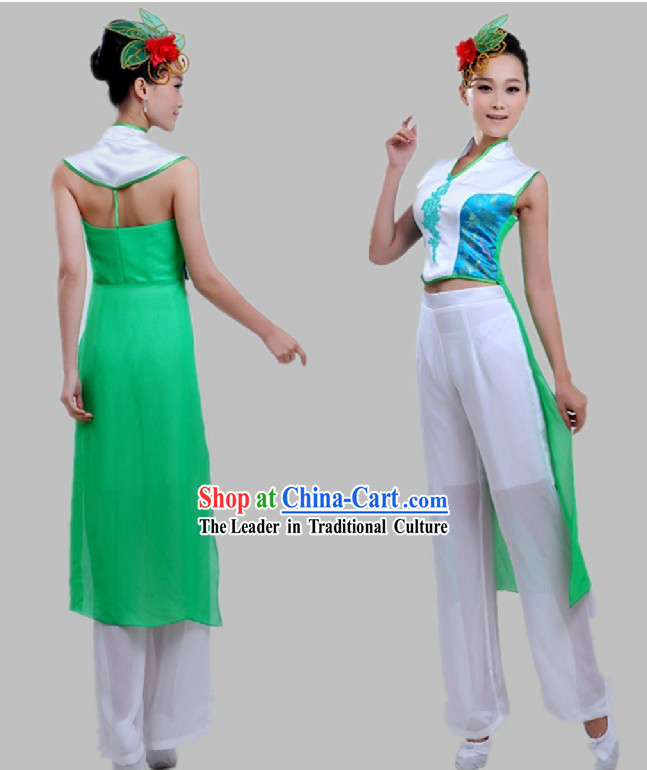 Chinese Classical Jasmine Flower Dance Costume for Women