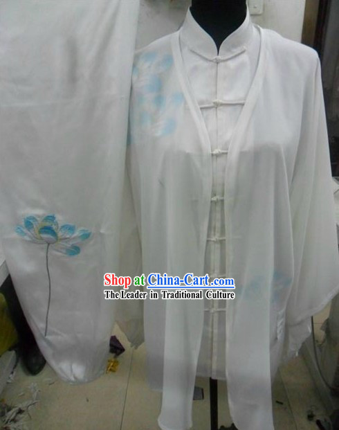 Chinese Traditional Silk Tai Chi Chuan Costumes for Women