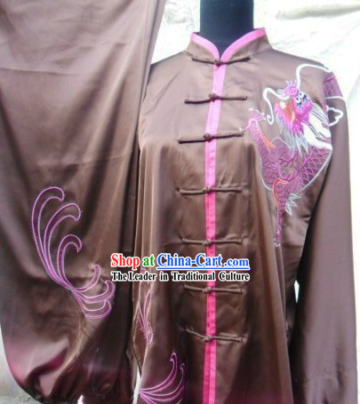 Traditional Silk Tai Chi and Kung Fu Uniforms for Men