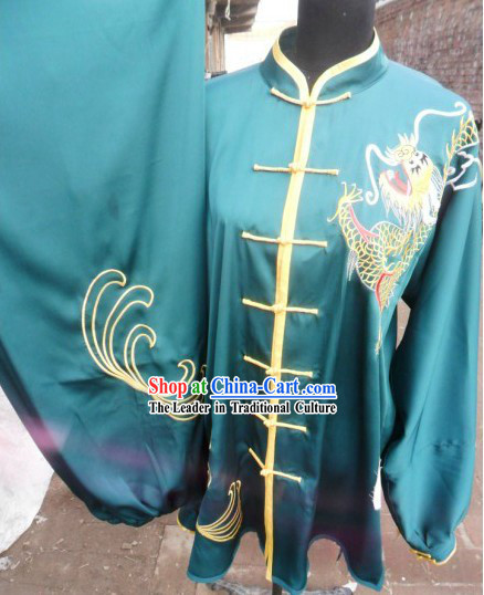 Professional Dragon Kung Fu Costumes for Men