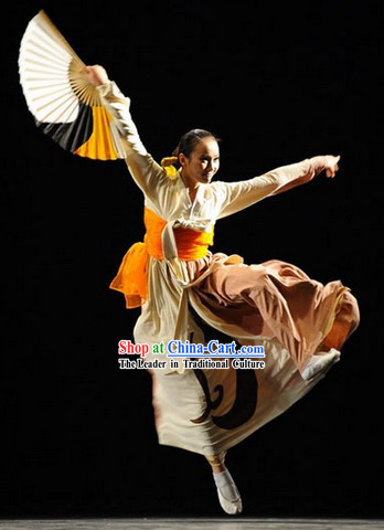 Traditional Tai Chi Style Dance Fan