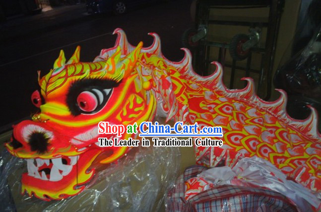 Glow in the Dark Luminous Dragon Dancing Costume Complete Set