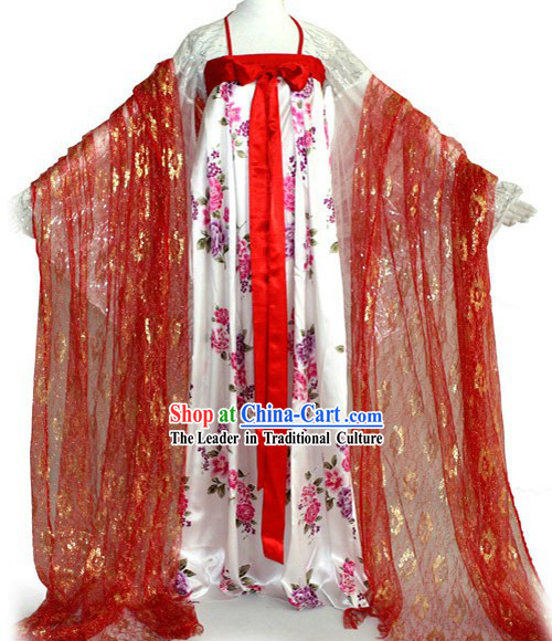 Ancient Chinese Tang Dynasty Palace Lady Costumes for Women