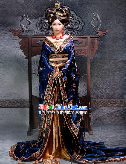 Ancient Chinese Empress Costumes Complete Set for Women
