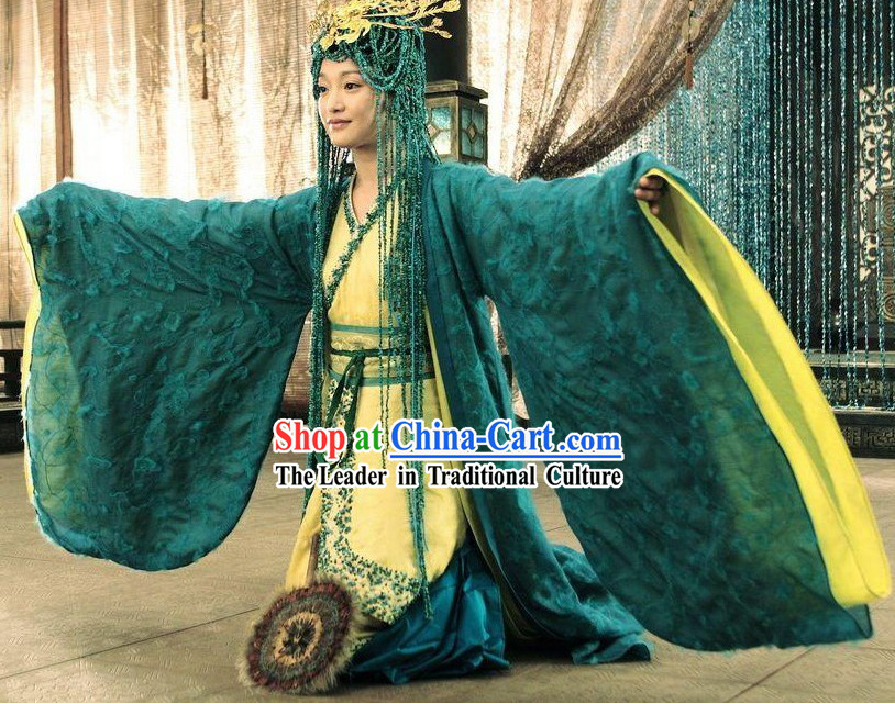 Ancient Chinese Han Dynasty Empress Costumes