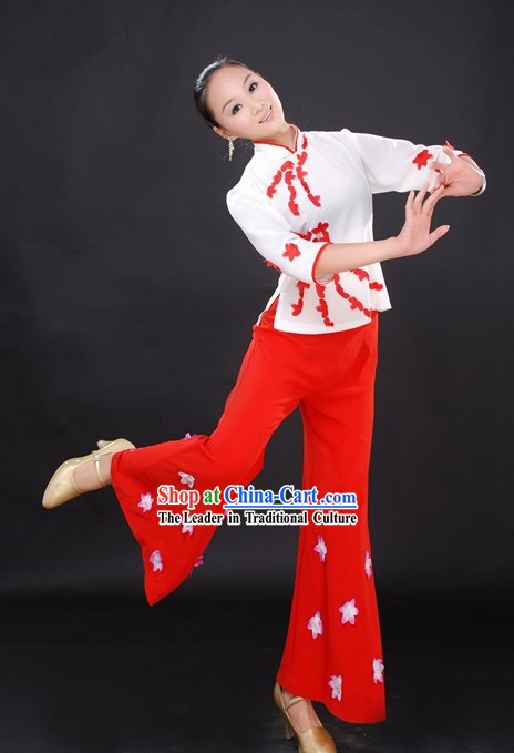 Chinese Ethnic Han Dance Clothes for Women