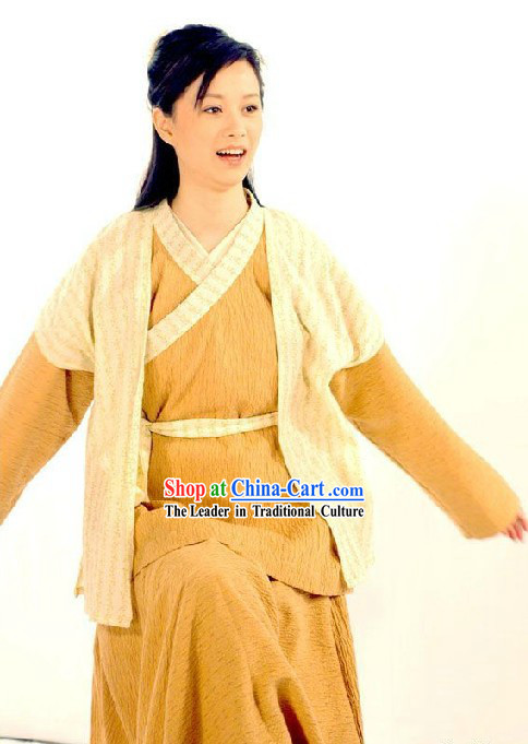 Ancient Chinese Kung Fu Costumes Complete Set for Women