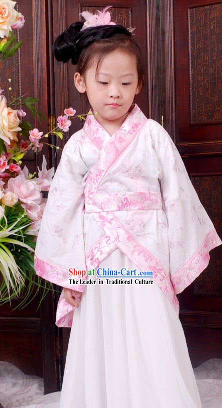 Ancient Chinese Ceremonial Clothing for Children