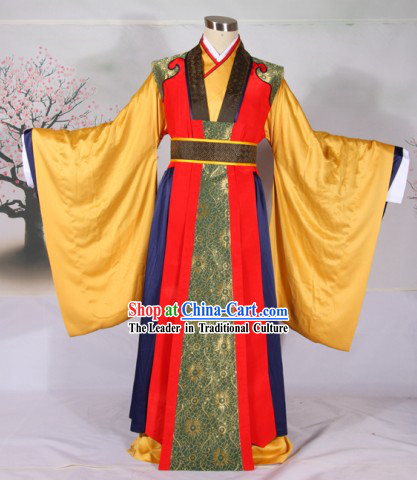 Ancient Chinese Wedding Dress Complete Set for Men