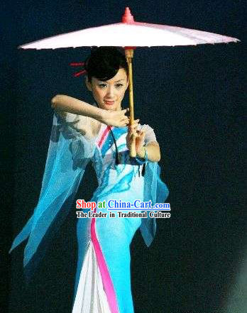 a6236186a Traditional Chinese Xiao Cheng Yu Xiang Umbrella Dance Costumes for Women