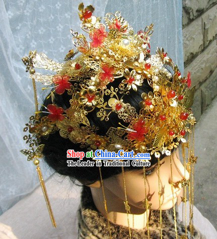 Stunning Chinese Wedding Phoenix Coronet for Brides