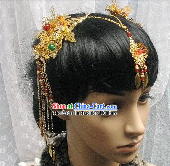 Traditional Chinese Handmade Hair Accessories Tassels for Brides
