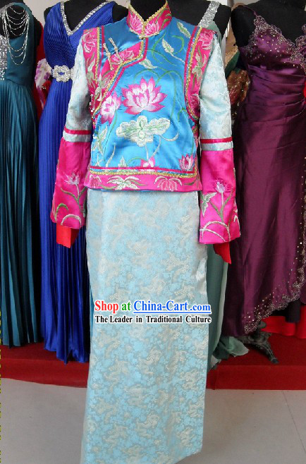 Qing Dynasty Princess Clothes for Women