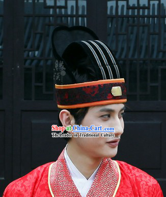 Ancient Chinese Coronet Hat for Men
