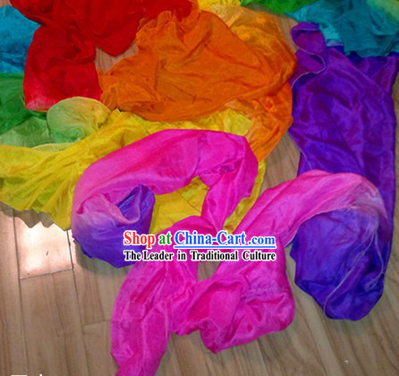 787 Inches Long Chinese Palace Classic Dancing Silk Ribbon Set